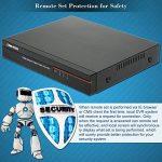 OWSOO 4 canaux canal complet 960H/D1 H.264 HDMI P2P nuage réseau DVR enregistreur vidéo numérique + 1 to HDD support Audio enregistrement téléphone contrôle Motion Detection Email alarme PTZ de la marque OWSOO image 4 produit