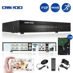 OWSOO 8 Voies 960H Enregistreur Vidéo Numérique H.264 HDMI P2P DVR CCTV + 1TB Disque Dur Système de Sécurité Support Audio Enregistrement Téléphone Contrôle Motion Detection Email Alarme de la marque OWSOO image 1 produit