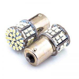 P21W Blanc froid 50SMD Vidéoprojecteur inversée ampoules ampoule?Twin Lot?Droits de remplacement pour n'importe quel P21W/arrière ampoules?gratuit 12mois de garantie de la marque ARH Auto Accessories image 0 produit