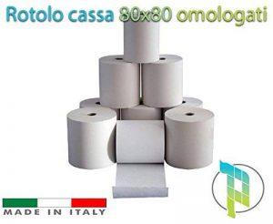 palucart® 50rouleaux caisse thermique 80x 80homologués fiscales de la marque Palucart® image 0 produit