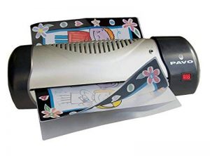Pavo 8004072 Ecomaster Plastifieuse A4 ecomaster + 10 pochettes de la marque Pavo image 0 produit