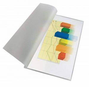 Pavo Boîte de 100 Pochettes de plastification à chaud mat 2 x 125 microns A3 Transparent de la marque Pavo image 0 produit