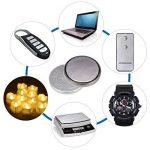 PChero 3 V CR2032 pile bouton au lithium pour lampes LED, télécommandes, Balance numérique, et donc sur, Silver, 24packs de la marque PChero image 1 produit