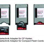 PCMCIA adapter pour CF. Adaptateur COMPACT FLASH (CF) vers PCMCIA CARDBUS Lecteur Enregistreur Beamer, Tachymeter, vidéo-projecteur, ordinateur portable, PC…. de la marque Spartechnik image 1 produit
