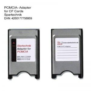 PCMCIA adapter pour CF. Adaptateur COMPACT FLASH (CF) vers PCMCIA CARDBUS Lecteur Enregistreur Beamer, Tachymeter, vidéo-projecteur, ordinateur portable, PC…. de la marque Spartechnik image 0 produit