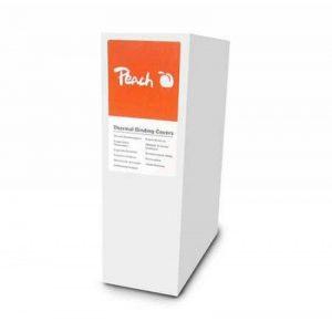 Peach Thermo-relieuse couverture, blanc, pour 60 feuilles (A4, 80gsm), 100 pièces - PBT406-05 de la marque Peach image 0 produit