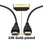 Perlegear Câble HDMI 4 Pack Ultra HD Professionel, Audio Return Channel - Signal Vidéo Haute performance avec Ethernet - Haute Performance 3D, HDTV, Playstation, Xbox, Projecteur de la marque Perlegear image 4 produit