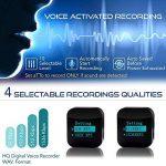 Petit Module D'enregistreur Voix à Commande Vocale, Dispositif d'écoute, Clé USB Dictaphone 286 Heures Capacite, 24 heures Batterie Autonomie, Enregistre pendant Charge - aTTo 4GO de la marque image 2 produit