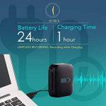 Petit Module D'enregistreur Voix à Commande Vocale, Dispositif d'écoute, Clé USB Dictaphone 286 Heures Capacite, 24 heures Batterie Autonomie, Enregistre pendant Charge - aTTo 4GO de la marque aTTo digital image 3 produit