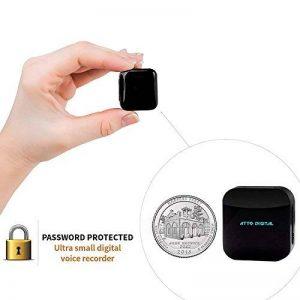 Petit Module D'enregistreur Voix à Commande Vocale, Dispositif d'écoute, Clé USB Dictaphone 286 Heures Capacite, 24 heures Batterie Autonomie, Enregistre pendant Charge - aTTo 4GO de la marque aTTo digital image 0 produit