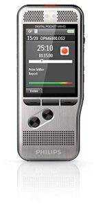 Philips DPM 6000 Dictaphones Connexion PC, Modes d'Enregistrements Convertibles, Type de Stockage: Mémoire Interne, Enregistreur MP3, Reconnaissance Vocale (DSS) de la marque Philips Audio image 0 produit