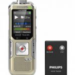 Philips DVT 6500 Dictaphones Connexion PC, Modes d'Enregistrements Convertibles, Type de Stockage: Mémoire Interne, Activation Vocale, Enregistreur MP3 de la marque Philips Audio image 1 produit