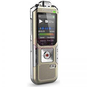 Philips DVT 6500 Dictaphones Connexion PC, Modes d'Enregistrements Convertibles, Type de Stockage: Mémoire Interne, Activation Vocale, Enregistreur MP3 de la marque Philips Audio image 0 produit