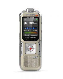 Philips DVT6510/00 Voice Tracer 8 Go pour Enregistrer Musique Champagne de la marque Philips image 0 produit