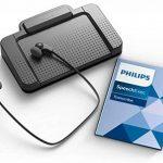 Philips LFH7177Kit de lecture pour dictaphone numérique Systèmes de Philips, avec pédale acc2330, USB stéréo casque sous le menton lfh0334, logiciel de lecture SpeechExec 10, anthracite de la marque Philips image 3 produit