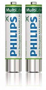 Philips LFH9154 2 Piles rechargeables pour Enregistreur numérique DVT 662/862 / 882 Type AAA de la marque Takara image 0 produit