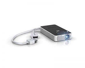 Philips - PPX4350W Projecteur de Poche sans Fil - Noir/Argent de la marque Philips - Accessories image 0 produit