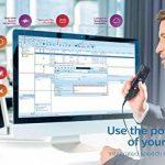 Philips pse4400/00Dictaphone Logiciel SpeechExec Professional DICTATE Version 10avec logiciel de reconnaissance vocale de la marque Philips image 2 produit