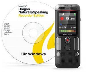 Philips Voice Tracer DVT2710 avec 8 Go DVT2510 + logiciel DNS version 13 pour PC Anthracite/Chrome de la marque Philips image 0 produit