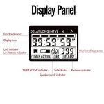 PHOTOOLEX T720N Sans fil Déclencheur à distance Télécommande de minuterie obturateur LCD Pour Caméra Appareil Photo Nikon N90, F5, F6, F100, F90, F90X, D1, D1H, D1X, D2, D3, D2H, D2Hs, D2X, D2Xs, D200, D300, D700 etc de la marque PHOTOOLEX image 4 produit