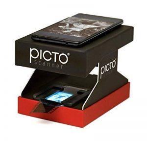 PictoScanner   Scanner de Négatifs et Diapositives 35mm   Utilise Uniquement Votre Smartphone – Pas d'Ordinateur requis   Convertit Vos Négatifs (N&B et Couleur) et Diapositives en Photos Numériques de la marque PictoScanner image 0 produit
