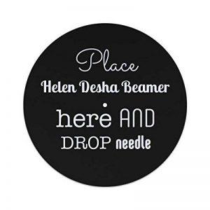 Place Helen Desha Beamer ici et de chute l'aiguille slipmat 12 inches de la marque The GCC image 0 produit