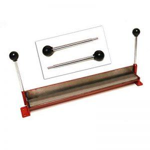 Plieuse à tôle manuelle 450 x 44 mm courbure 90° pour petites pièces de la marque DEMA image 0 produit
