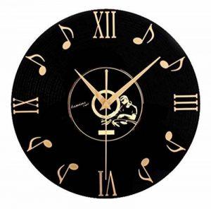 PLYY Européenne Rétro 3D Stéréo Acrylique Vinyle CD Horloge Murale Creative Décoratif Horloge Murale de Quartz de la marque PLYY image 0 produit