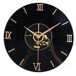 PLYY Européenne Rétro 3D Stéréo Acrylique Vinyle CD Horloge Murale Creative Décoratif Horloge Murale de Quartz de la marque PLYY image 1 produit