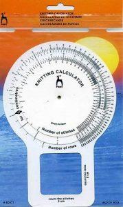 Pony Calculateur de Tricot, Aluminium, Multicolore, 16,5 x 2 x 26 cm de la marque Pony image 0 produit