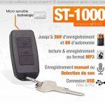 Porte-clés micro enregistreur audio numérique détection de son de la marque Active Media Concept image 2 produit