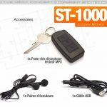 Porte-clés micro enregistreur audio numérique détection de son de la marque Active Media Concept image 4 produit