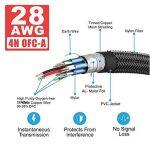 Premium 4K câble HDMI High Speed Câble HDMI 2.0/A/B–Professional câble HDMI vers HDMI pour 4K Ultra HDTV, prise en charge Full HD  hdr, 3d, Sky HD, ARC, CEC, Ethernet/Compatible avec moniteur TV, ordinateur, PC, ordinateur portable, PS3/4, Vidéoprojec image 3 produit