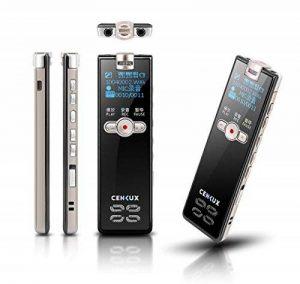 Professional Digital Voice Recorder, entretien Enregistrement de musique MP3, r¨¦duction du bruit, Rechargeable Multifonctionnel Portable de la marque sunlida image 0 produit
