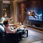 Projecteur 3200 lumens, LESHP LED + LCD Vidéoprojecteur Mini Portable Multimédia, Résolution1280x1920 max, Contraste 3000: 1, Soutien 1080PHD / USB / VGA / SD / HDMI pour Xbox / iPhone / Smartphone / PC, Retroprojecteur Idéal pour Home Cinéma, TV, Jeux Vi image 4 produit