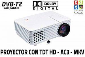 Projecteur avec tuner TNT luximagen SV100Blanc avec tuner TNT HD, USB, HDMI, VGA, AC3 de la marque Luximagen image 0 produit