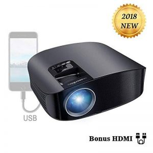 Projecteur HD, BeamerKing Videoprojecteur LED 3500 Lumens Retroprojecteur Projecteur Full HD Supporte 1080p Relier Ordinateur Portable iPhone Smartphone TV Xbox for Movie Jeux de la marque Beamerking image 0 produit
