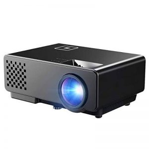 Projecteur LCD Mini Portable Maison Cinéma Multimédia avec USB AV HDMI VGA pour Vidéo Jeux Filme Cour Cinéma Retroprojecteur, Artlii Videoprojecteur Portable LED Soutien HD 1080p HDMI USB VGA AV SD,Projecteur de Cinéma Maison Vidéoprojecteur Full HD, Artl image 0 produit