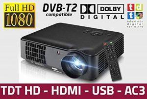 Projecteur pas cher luximagen HD520avec TNT, USB, HDMI, VGA, AC3, Resolucion Real HD, 2ans de garantie de la marque Luximagen image 0 produit
