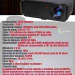 Projecteur pas cher luximagen HD520avec TNT, USB, HDMI, VGA, AC3, Resolucion Real HD, 2ans de garantie de la marque Luximagen image 3 produit