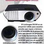 Projecteur pas cher luximagen portable 2000lumens LED Mini Projecteur Home Cinema Portable Multimédia Home Cinéma avec USB SD HDMI VGA PS4, Nintendo Switch, Xbox de la marque Luximagen image 3 produit