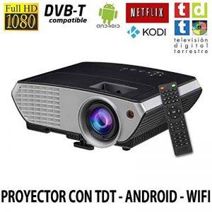 Projecteur pas cher luximagen sv350avec Wifi, Android, TV TNT, USB, HDMI, VGA, AC3, FullHD ils, 2ans de garantie de la marque Luximagen image 0 produit