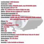Projecteur pas cher luximagen sv350avec Wifi, Android, TV TNT, USB, HDMI, VGA, AC3, FullHD ils, 2ans de garantie de la marque Luximagen image 1 produit
