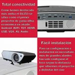 Projecteur pas cher luximagen sv350avec Wifi, Android, TV TNT, USB, HDMI, VGA, AC3, FullHD ils, 2ans de garantie de la marque Luximagen image 3 produit