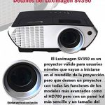 Projecteur pas cher luximagen sv350avec Wifi, Android, TV TNT, USB, HDMI, VGA, AC3, FullHD ils, 2ans de garantie de la marque Luximagen image 4 produit