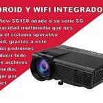 Projecteur pas cher unicview SG150Blanc avec Android, WiFi, USB, HDMI, VGA, AC3, carte TF de la marque Unicview image 2 produit