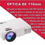 Projecteur pas cher unicview SG150Blanc avec Android, WiFi, USB, HDMI, VGA, AC3, carte TF de la marque Unicview image 3 produit