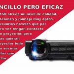 Projecteur pas cher unicview SG150Blanc avec Android, WiFi, USB, HDMI, VGA, AC3, carte TF de la marque Unicview image 4 produit