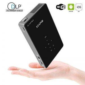 Projecteur WXGA 720P HD, Ezapor Vidéoprojecteur LED Mini pour Home Cinéma,Vidéo Projecteur Portable WiFi Vidéo Film Smartphone TV Noir de la marque Mileagea image 0 produit