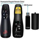 Présentateur Powerpoint et Keynote avec télécommande sans fil (PR-819) par Red Star Tec (Noir, 1 Pièce) de la marque Red Star Tec image 3 produit